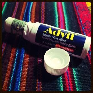 Advil Hiding Place
