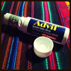 Advil Hiding Place