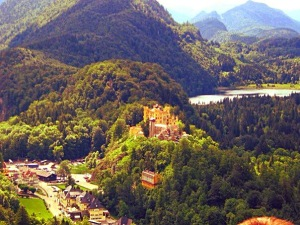 Hohenschwangau - childhood home of KIng Ludwig II of Bavaria