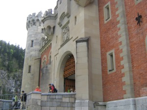 Neuschwanstein Entrance
