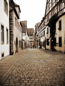 Streets of Rothenburg