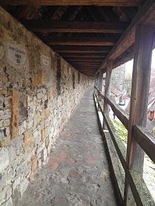 Walking the walls
