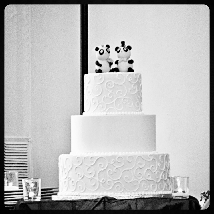 The adorable cake