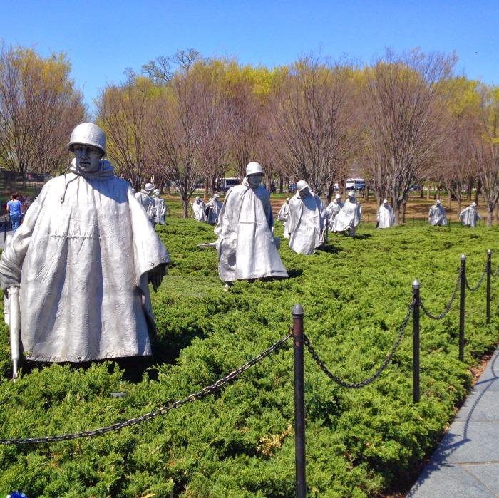 6. Korean War Memorial