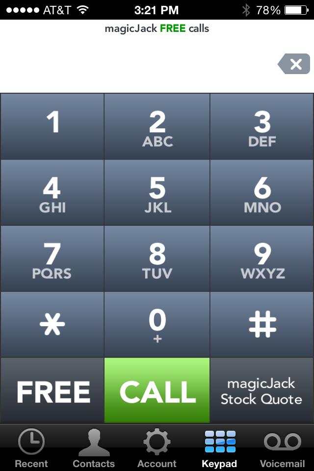 MagicJackiPhone