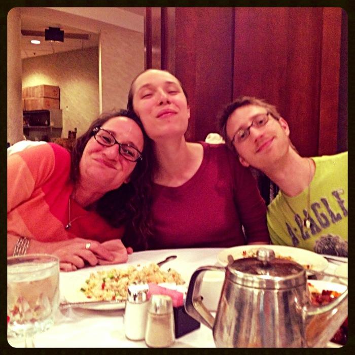 Mom, Amanda, and Lance