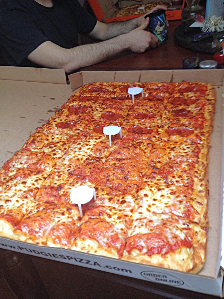 mmmmmmmm Pizza.....