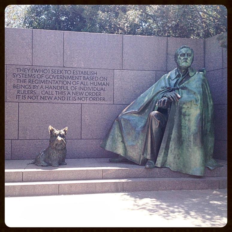7. Roosevelt Memorial