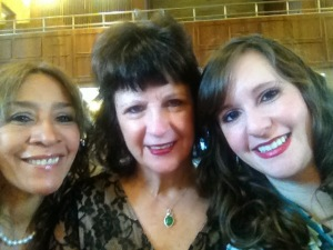 Tia Chiby (came from Peru), Mami, and Me