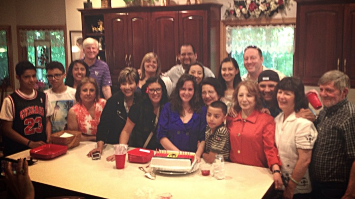 This is just one third of my family......