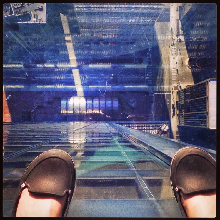 Feet at Sears Tower