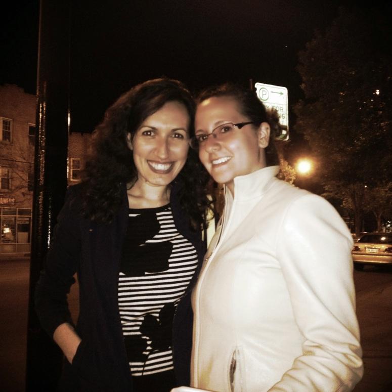 With My Anya