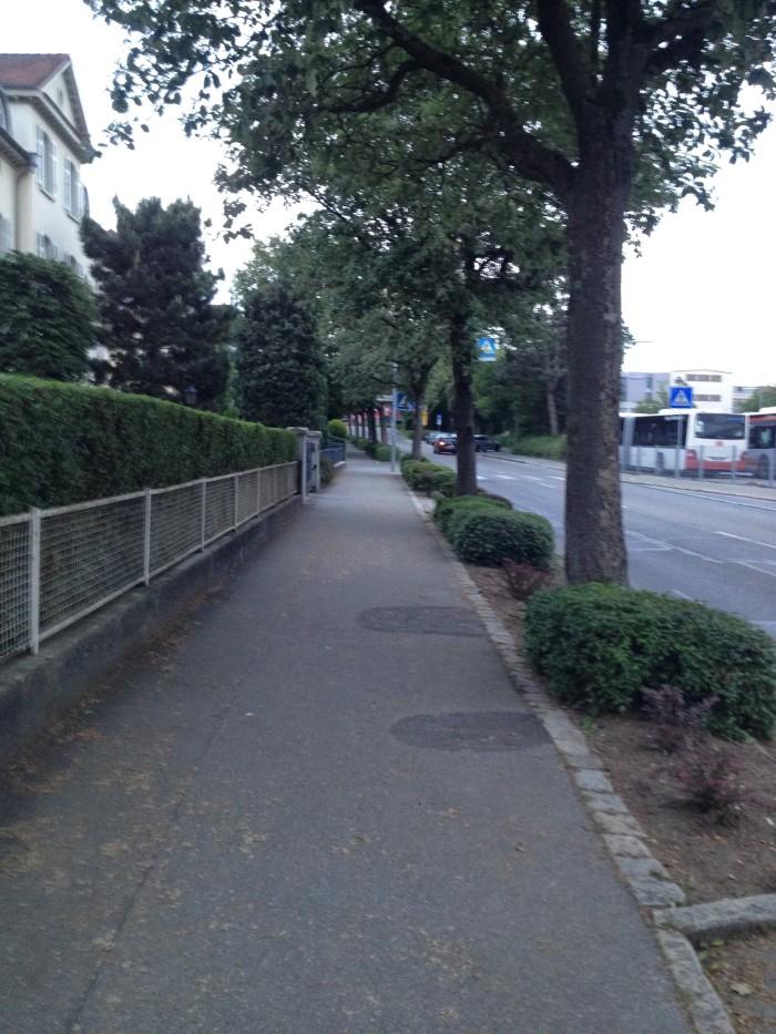 My street: Bahnhofstrasse