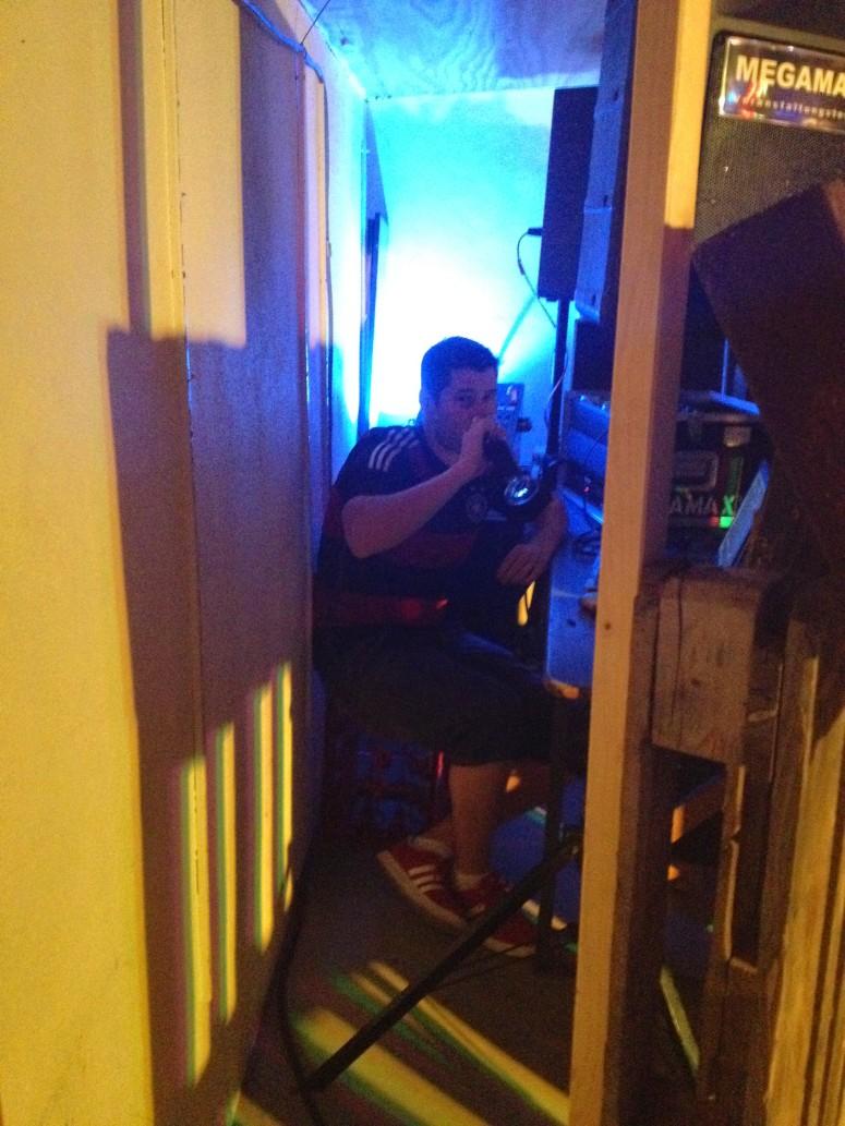 Thorsten being Mr DJ :-)