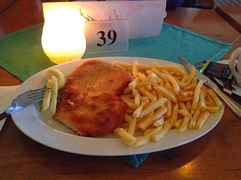 mmmmm Austrian weiner schnitzel :-P