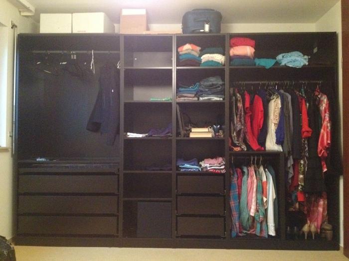 Our closet!!!!!!