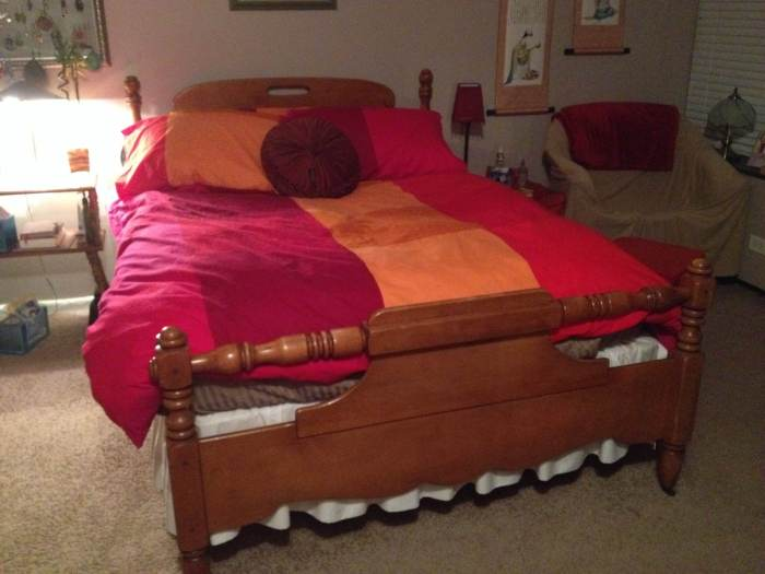 My old bed in Chicago