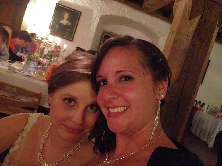 Photo with the lovely bride