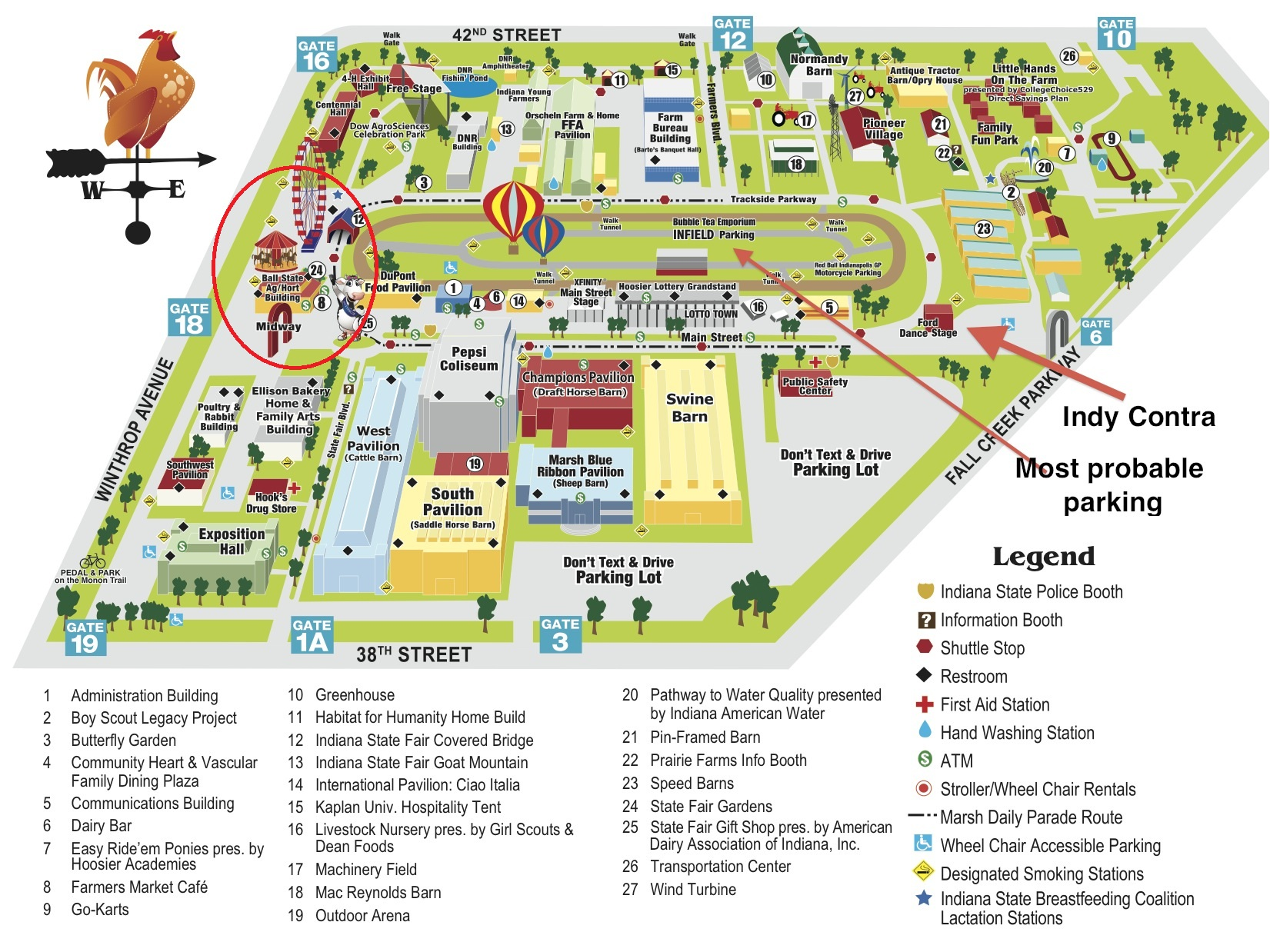 Indiana State Fair Map | www.tollebild.com