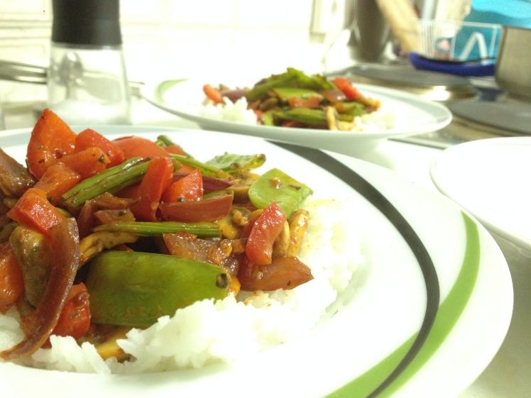 Vegetarian Lomo