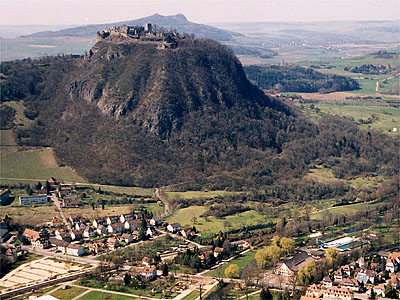 Hohentwiel overlooking Singen - Google Images