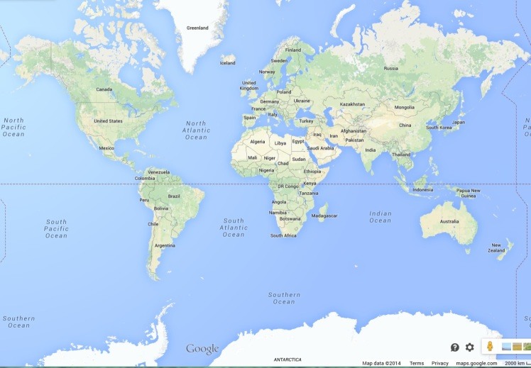 Thank you, Google Maps!
