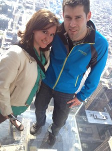 When T and I first met in Chicago <3