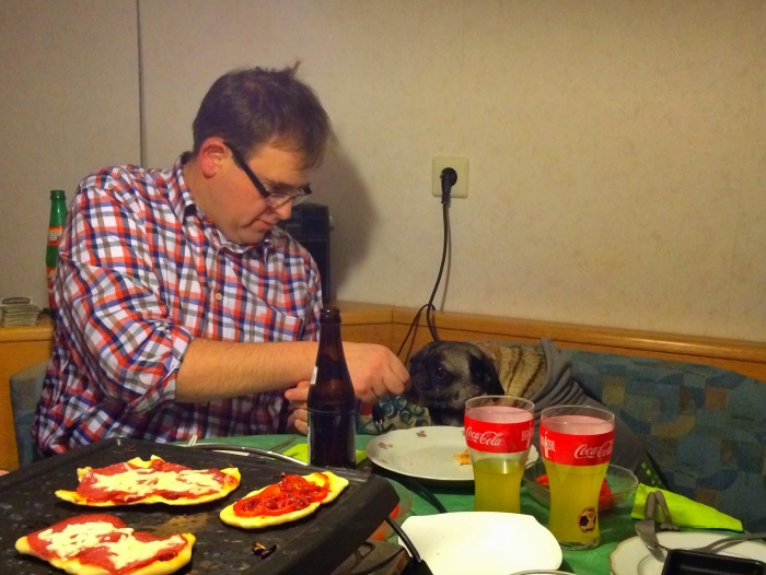 Even Abner took advantage of the Raclette