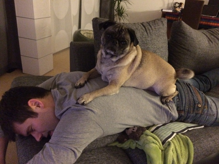 He gives really good massages...