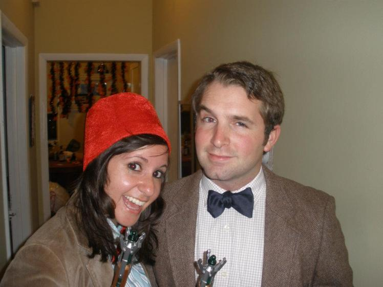 Me as the 11th Doctor at a party where there was another 11th Doctor in Chicago 2011
