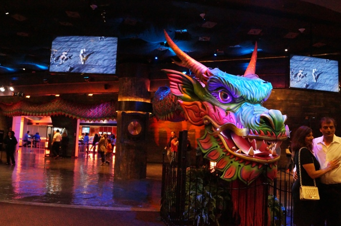 The entrance at the MGM Grand