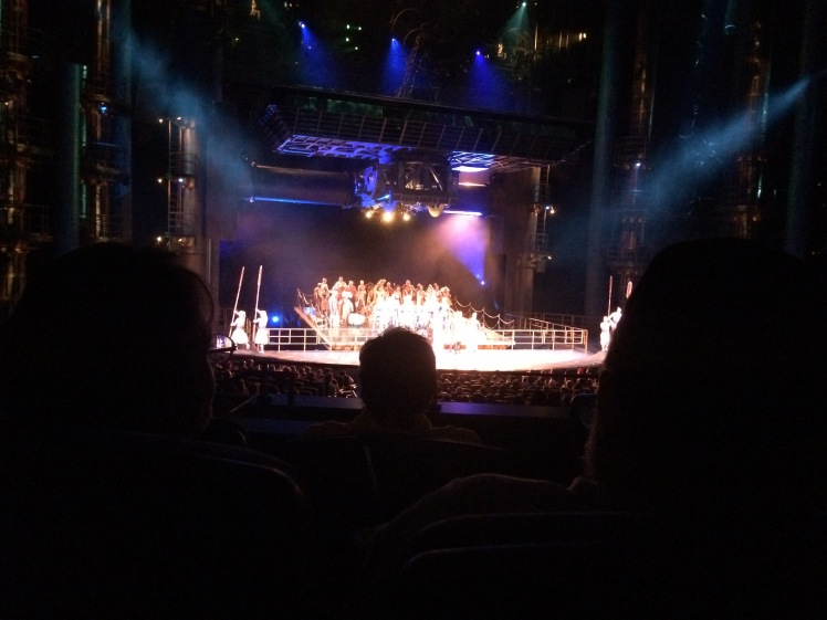 I snuck a photo of the show at the end....