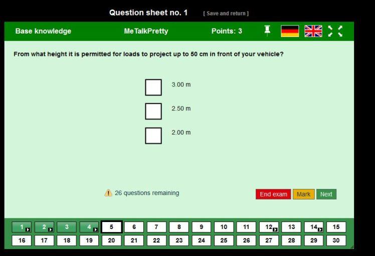 sample test 1