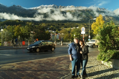 Mom, Dad, and the Alps