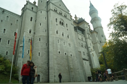 Mom and Dad at Neuschwanstein