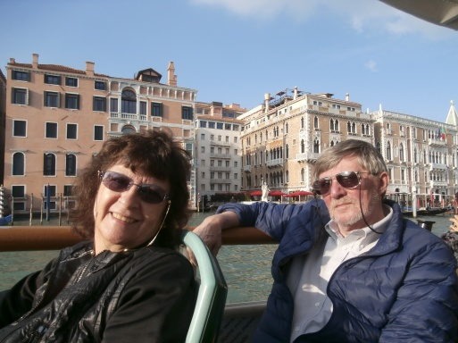 Mom and Dad in Venice