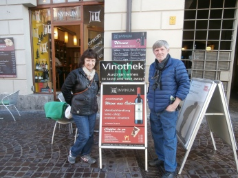 Mom and Dad in Innsbruck