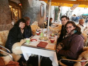 The Family in Innsbruck