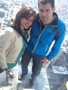 T and I at the Willis Tower in Chicago, IL in 2013