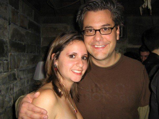 This photo was taken around Halloween exactly ten years ago