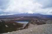 Mt. Ruapehu with Lower Tamal Lake