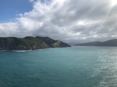 Entering the South Island